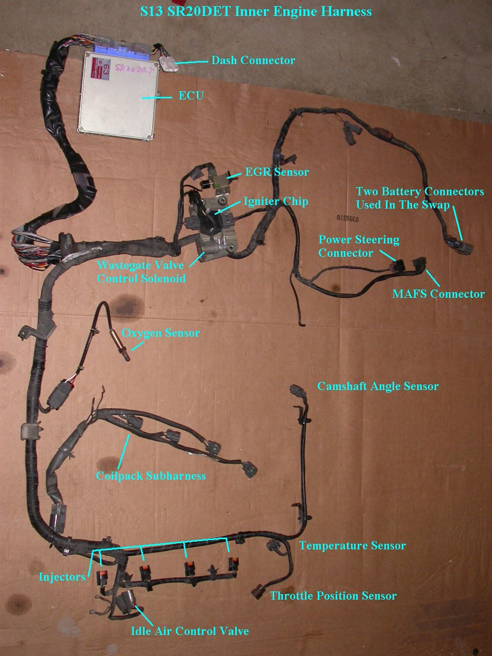 s13 engine harness diagram s13 wiring harness diagram