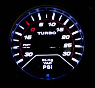 Megan Racing Turbo/Boost Gauge