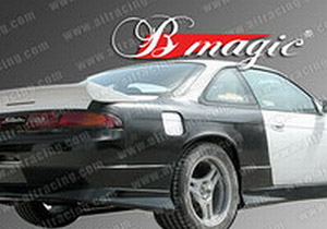 B-MAGIC -D1 REAR: S14 NISSAN 240SX 95-98 REAR OVER FENDERS - 30MM OR 50MM